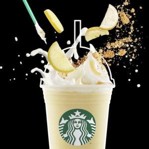 Savourez le délicieux dessert à base de citron Meringue Frappuccino®.
