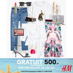 Gagnez un bon cadeau de 500 DH chez H&M