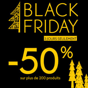 Black Friday chez Yves Rocher