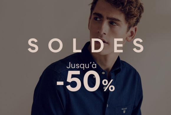 Jusqu'à -50% chez Gant !