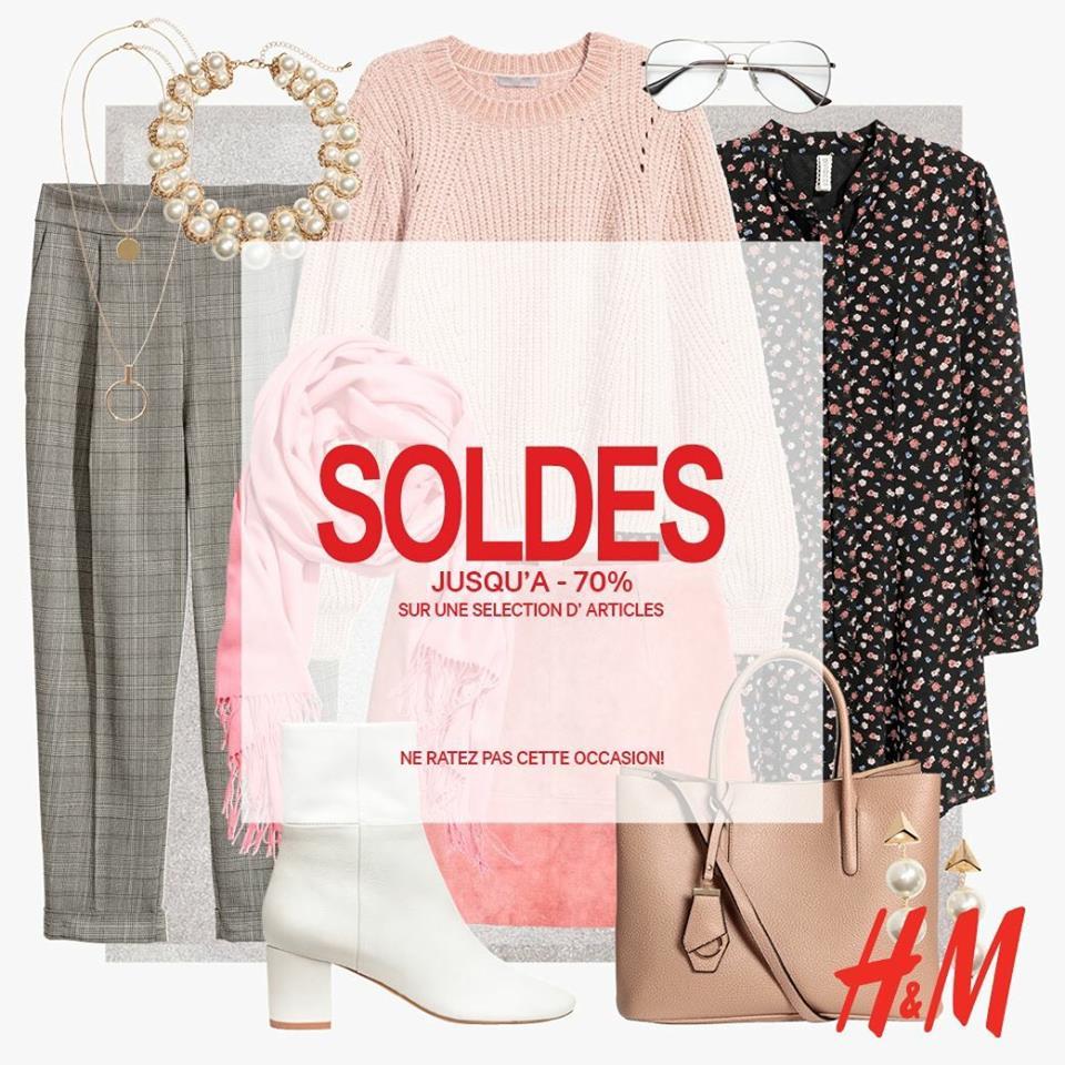 Jusqu'à -70% chez H&M !