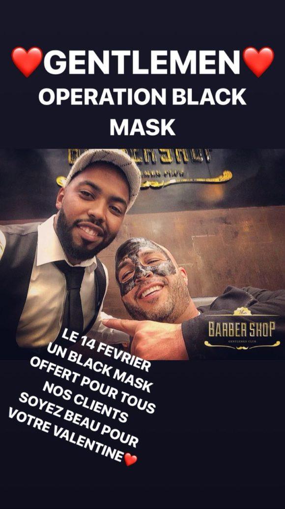 Opération Black Mask !