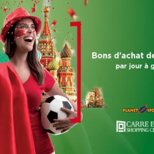 Vivez la coupe du monde au Carré Eden Shopping Center