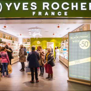 Le Black Friday D'Yves Rocher