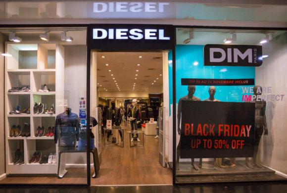 Le Black Friday c'est aussi chez DIESEL!