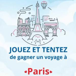 Gagnez un magnifique voyage à Paris !