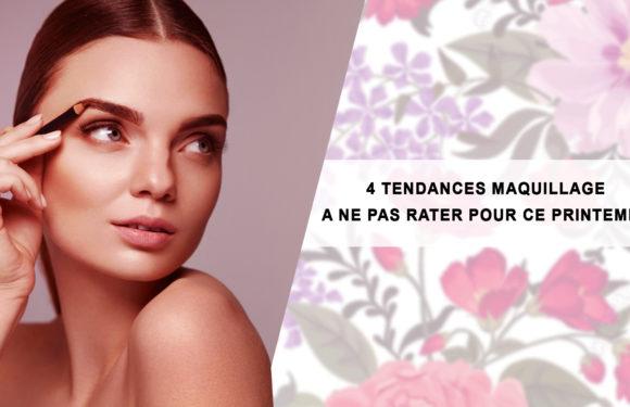 4 Tendances maquillage à ne pas rater pour ce printemps