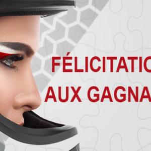 Félicitations aux gagnants du jeu grand prix de Marrakech