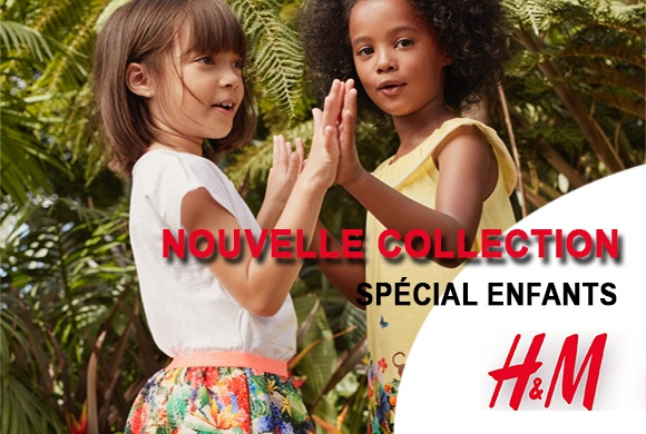 La nouvelle collection H&M kids