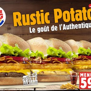 «Le Rustic Potato» de Burger King