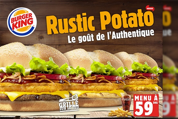 « Le Rustic Potato » de Burger King