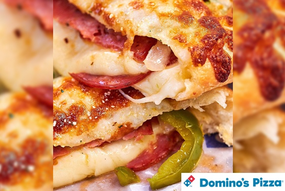 « Les fajitas pepperoni » Domino's Pizza