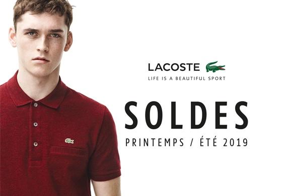 «Lacost» Soldes printemps/été 2019