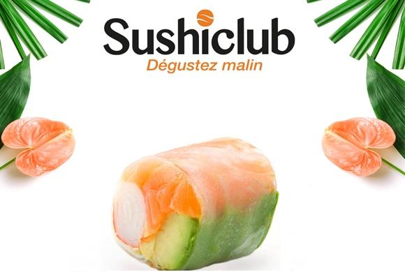 Quand la légèreté rencontre la gourmandise «SUSHICLUB»