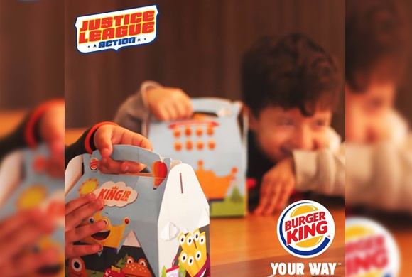 «Justice league» Burger King