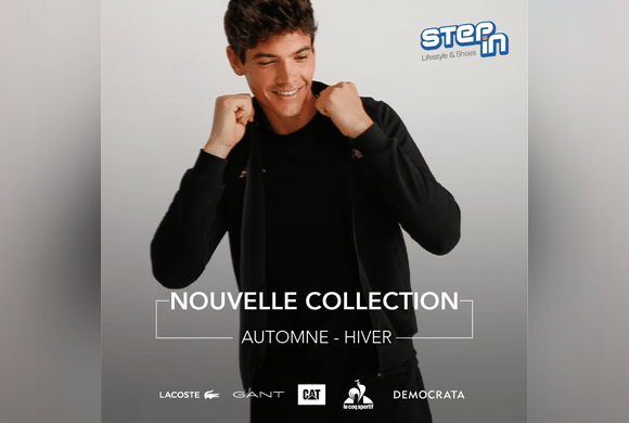 Nouvelle collection Step In Automne – Hiver