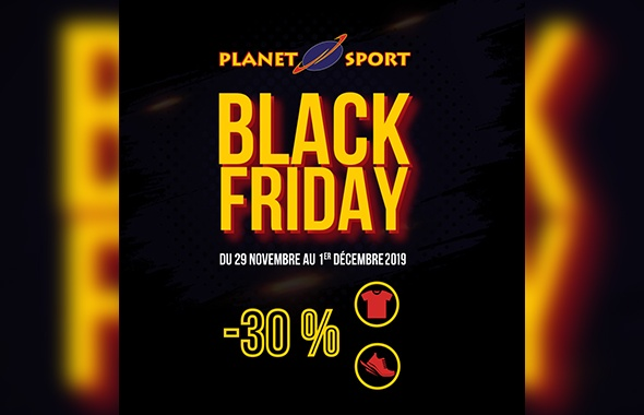 Spécial Black Friday Planet Sport
