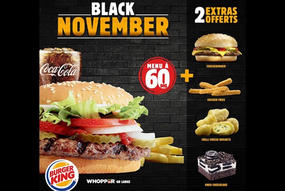 BLACK NOVEMBER ! Burger King
