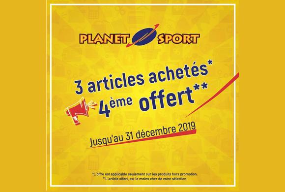 Que la promo commence !! chez Planet Sport