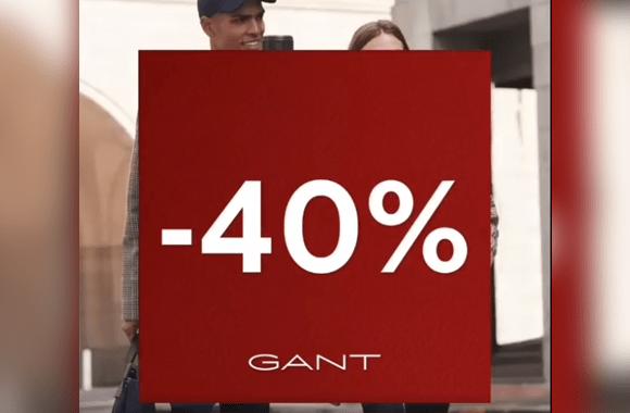Top départ pour les soldes d'hiver chez GANT
