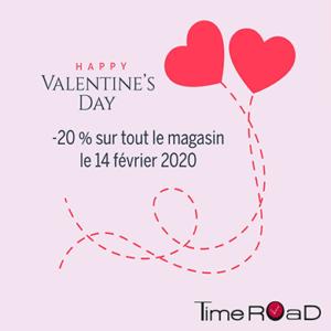 Vivez le Saint Valentin avec Time Road
