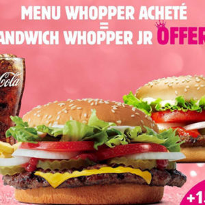 «Burger King» IN MARCH, WE CALL IT WHOPPHER!