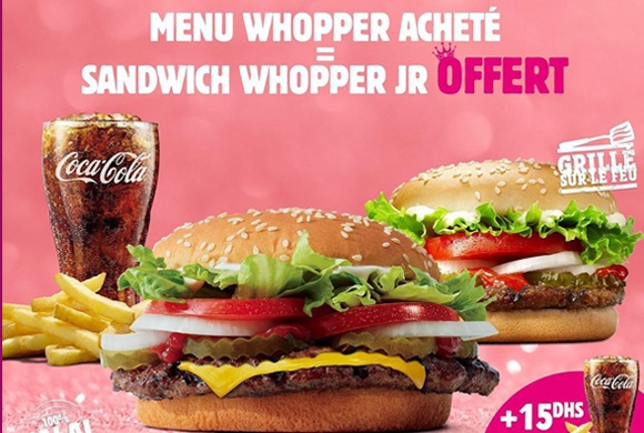 « Burger King » IN MARCH, WE CALL IT WHOPPHER!