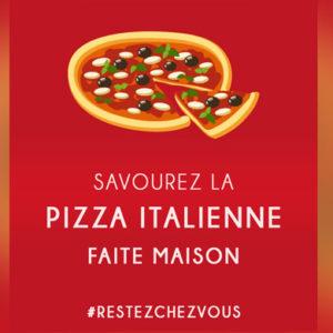 Savourez la Pizza Italienne faite maison