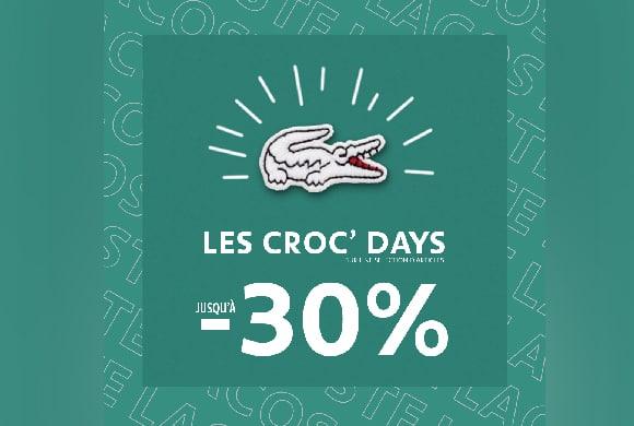 Les Croc's Days sont de retour !
