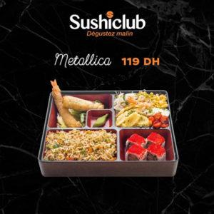 Le service à  emporter de Sushi Club au Carré Eden Shopping Center est de retour!