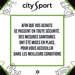 Faites vos achats en toute sécurité chez City Sport