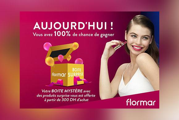 Superbe promotion dans votre magasin Flormar au Carré Eden Shopping Center