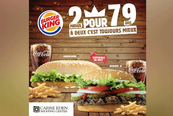 Offre de la semaine dans Burger King