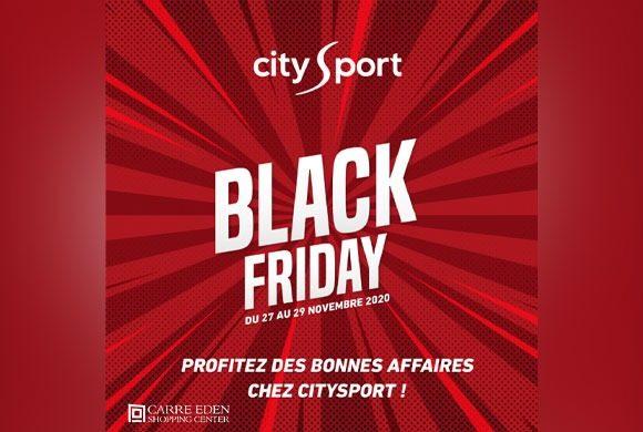 OFFRES SPÉCIALES BLACK FRIDAY DE CITY SPORT
