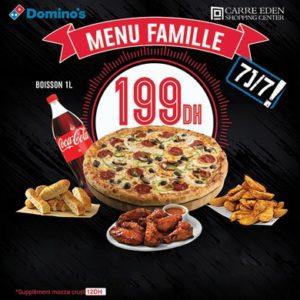 le Menu Famille chez Domino's Pizza