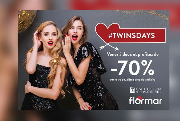Twinsdays chez Flormar