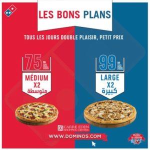 Les Bons plans à Dominos Pizza