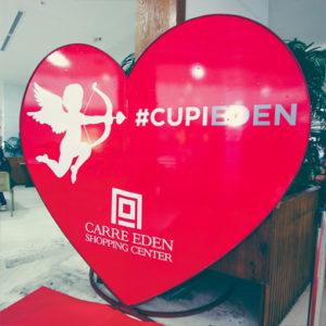 Cupidon souffle un vent d'Amour Au Carré Eden Shopping Center!