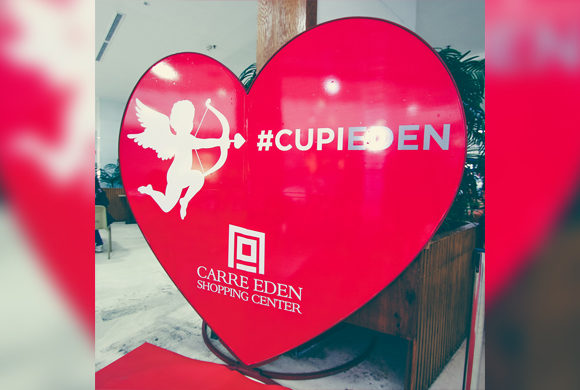 Cupidon souffle un vent d'Amour Au Carré Eden Shopping Center!