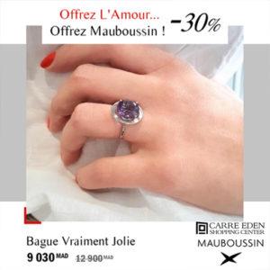 Offrez l'Amour… Offrez Mauboussin ! Offre prolongée