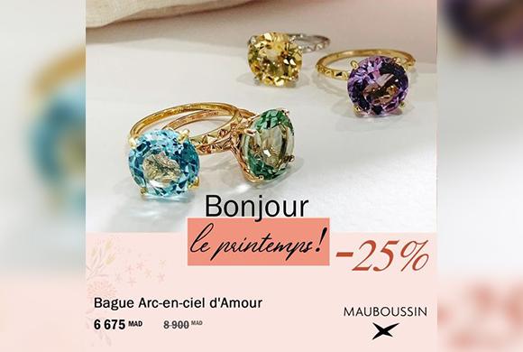 Promotion Bonjour le Printemps ! -25%