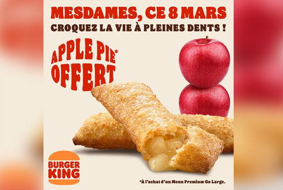 Burger King célébre et remercie les femmes du monde entier