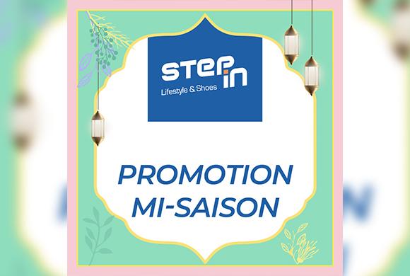 titre:  Faites un Step au Step In pour des promos en couleurs