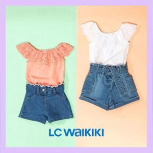 LC WAIKIKI met la lumière sur ses mini-fashionistas
