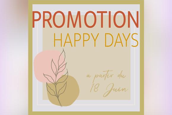 Promos Happy Days chez Marwa